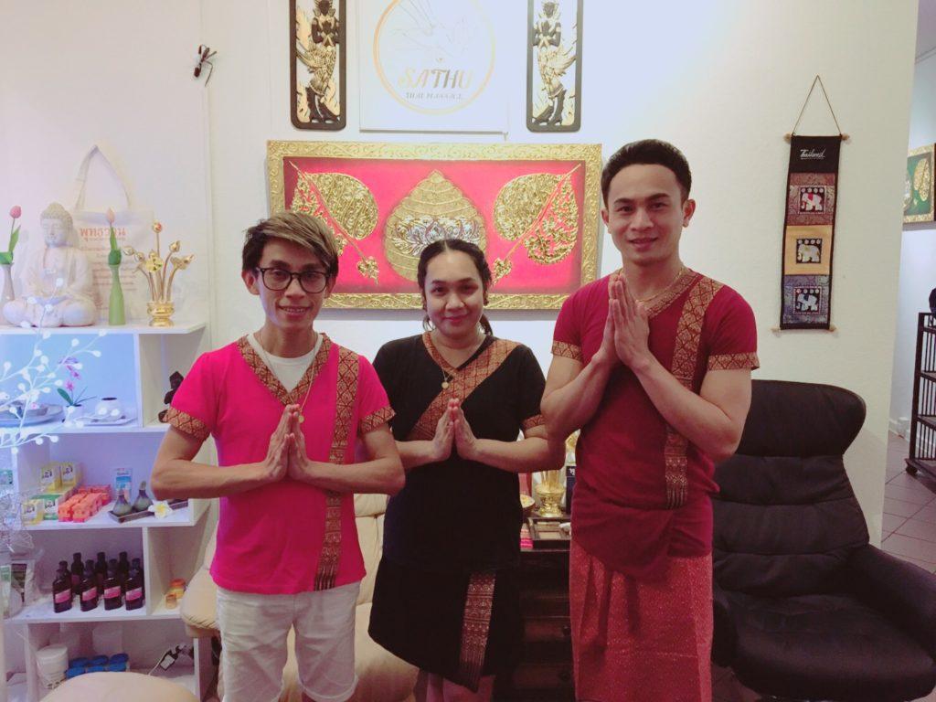 Sathu Thai Massage Berlin Team.